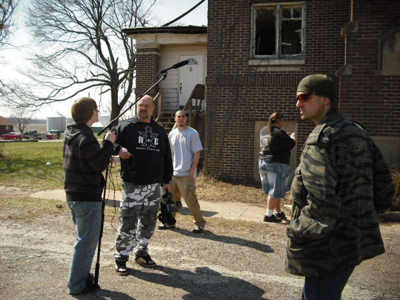 John Specht and crew at Ashmore Estates