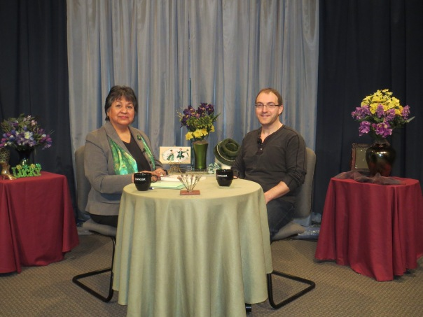 Big thanks to Gloria Cardenas Cudia for having me on her show at Comcast Connects! The segment will air sometime in March