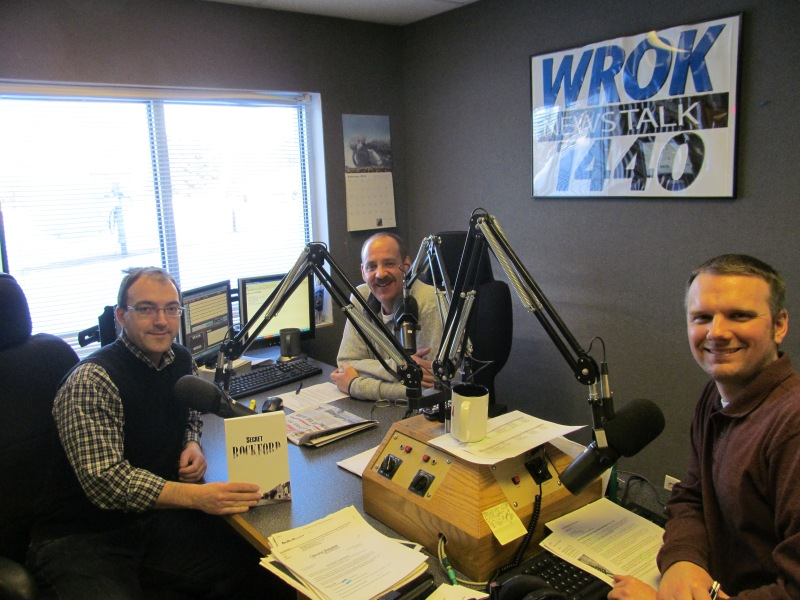 Riley & Scot and I talk about Secret Rockford at WROK 1440 AM