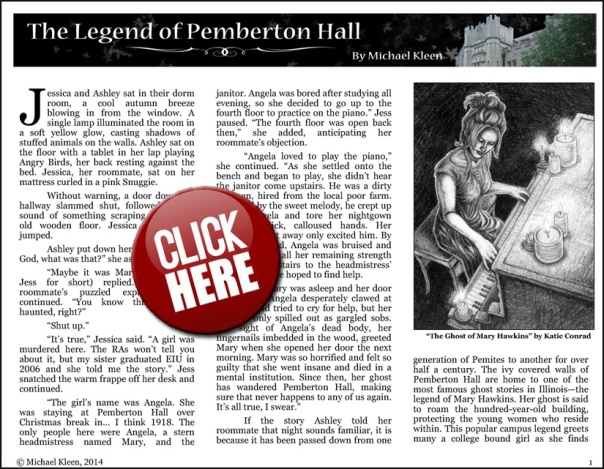 "Click on this image to download and read ""The Legend of Pemberton Hall"" in .PDF"