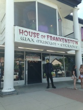 House of Frankenstein Wax Museum. Photo by Michael Kleen