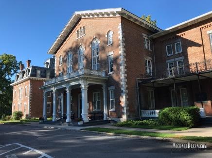 Oneida Community Mansion House in Oneida, New York. Photo by Michael Kleen