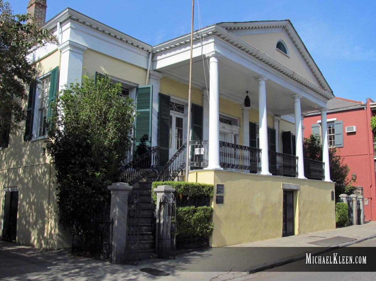 Do Tortured Dead Stalk the Beauregard-Keyes House?