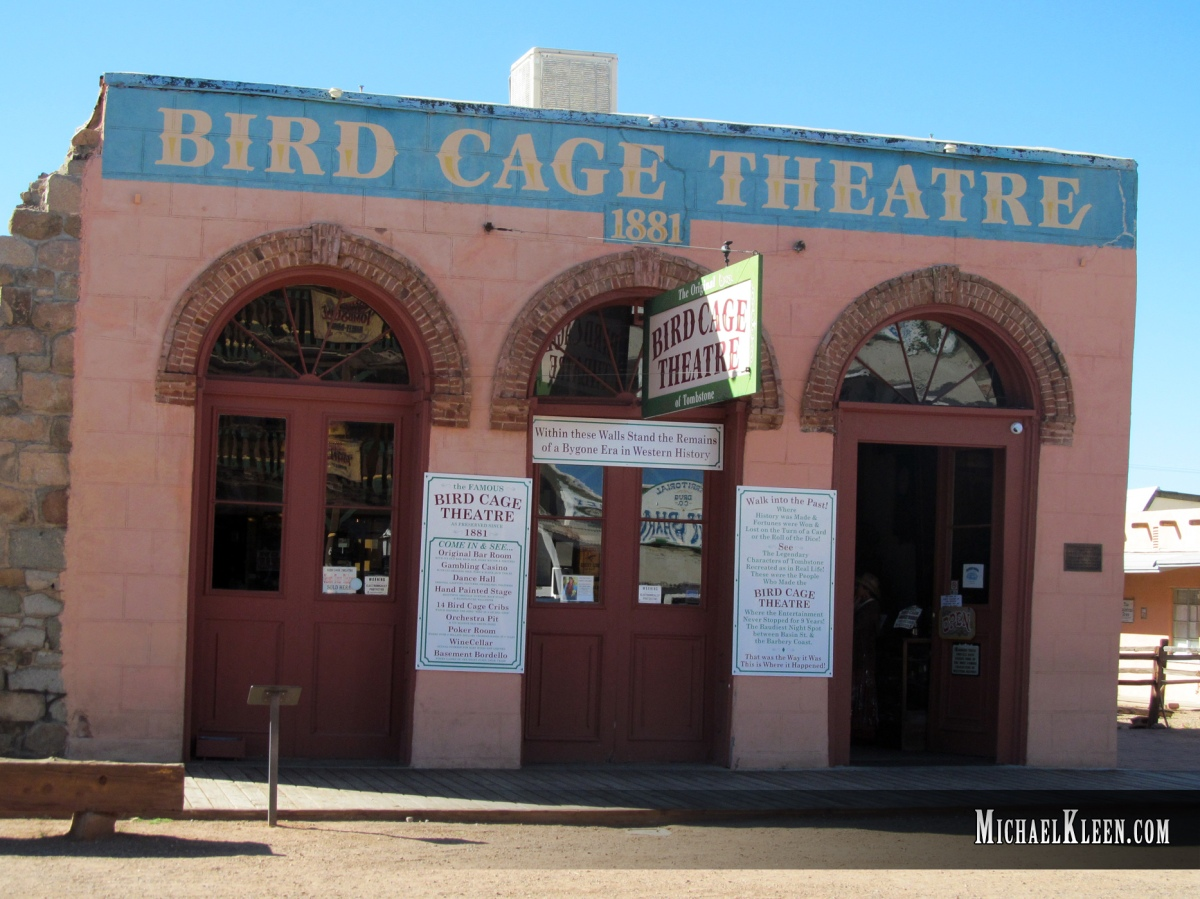 Tombstone's Bird Cage Theater