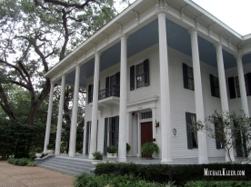 Bragg-Mitchell Mansion in Mobile, Alabama. Photo by Michael Kleen