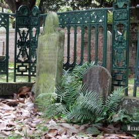 Church Street Graveyard in Mobile, Alabama. Photo by Michael Kleen
