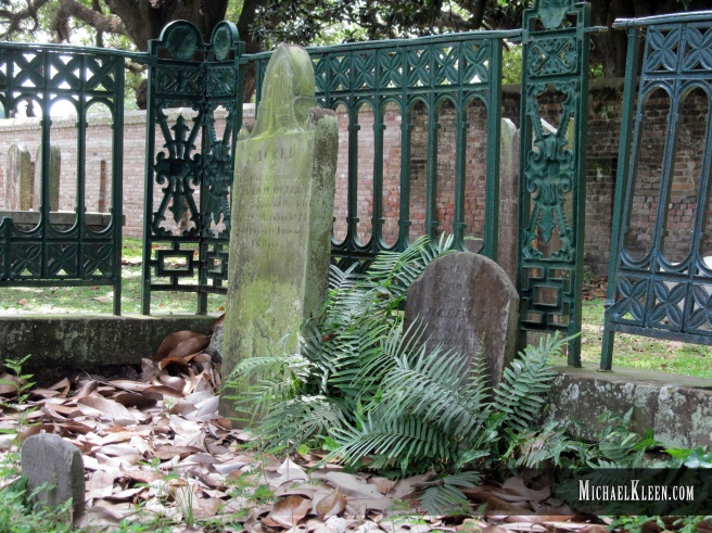 Church Street Graveyard in Mobile, Alabama. Photo by Michael Kleen