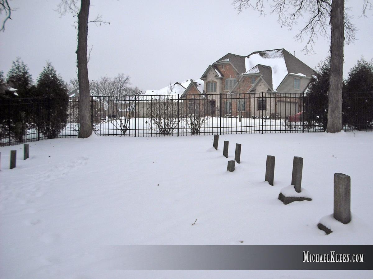 Girl's School Cemetery in Fox RunSubdivision
