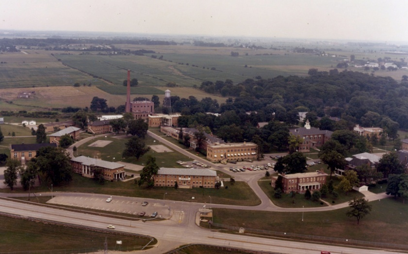 Illinois State Training School at Geneva c. 1970