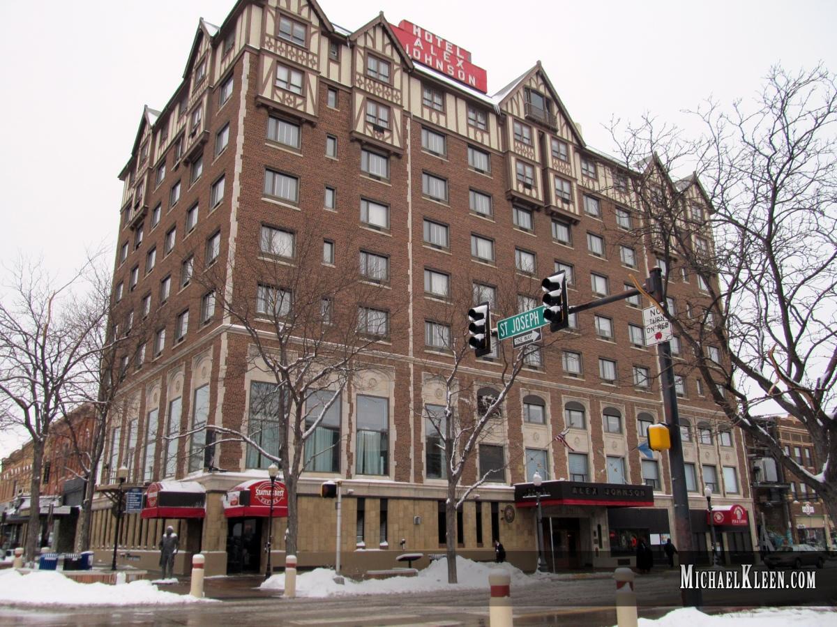 Hotel Alex Johnson's Enigmatic 8thFloor