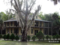 Koreshan State Historic Site in Estero, Florida. Photo by Michael Kleen