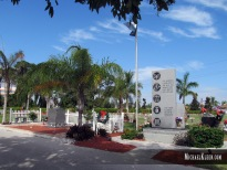 Marco Island Cemetery in Marco Island, Florida. Photo by Michael Kleen