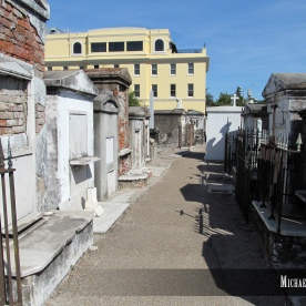 Saint Louis Cemetery Number One in New Orleans, Louisiana. Photo by Michael Kleen
