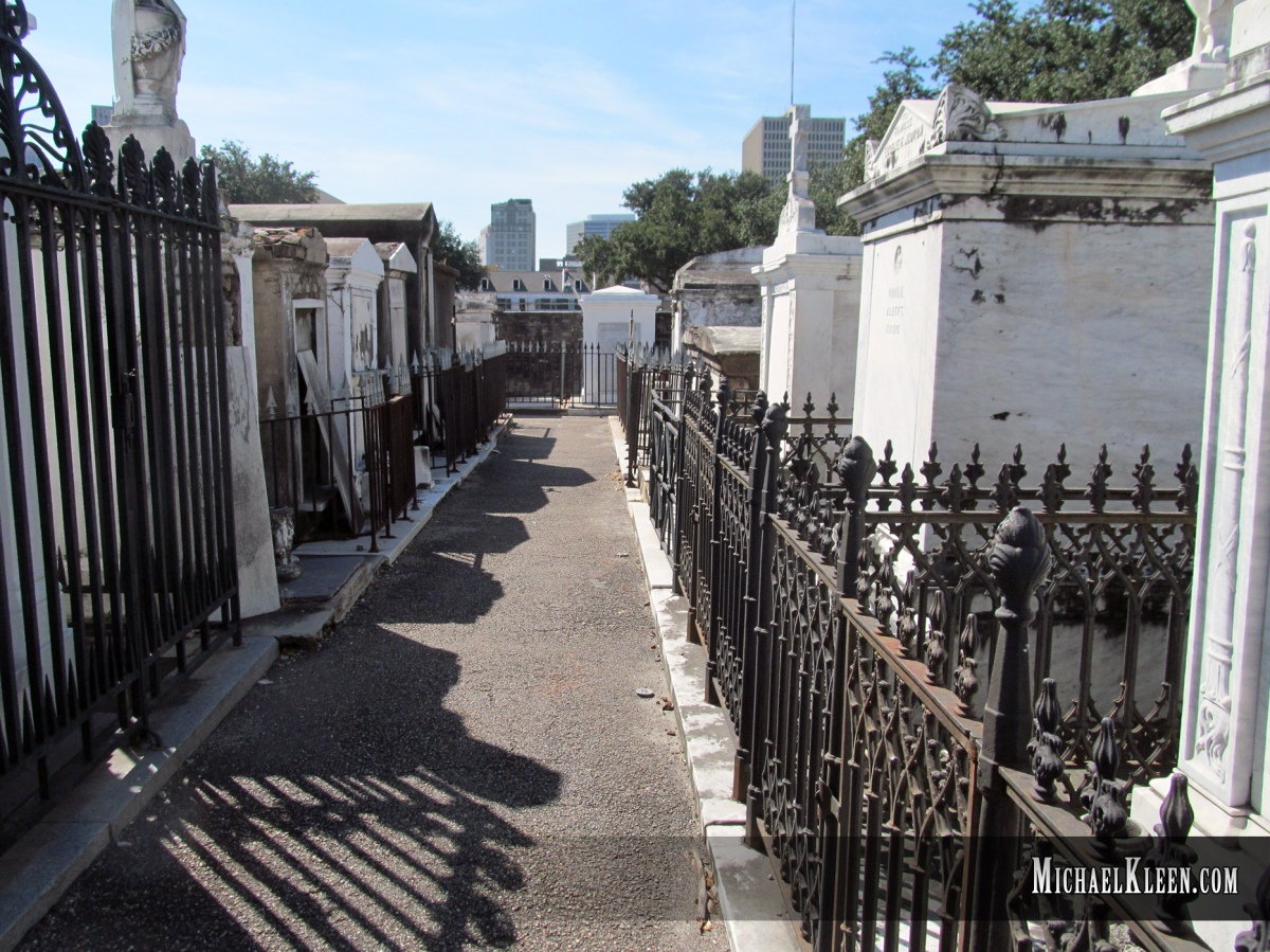Inside New Orleans' Cemetery No. 1