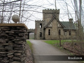 Squire's Castle in Willoughby Hills, Ohio. Photo by Michael Kleen