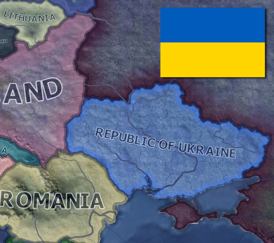 Hearts of Iron IV Minor Nation Strategies: Ukraine – M A  Kleen