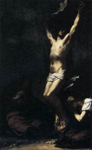 Crucifixion (1822) by Pierre-Paul Prud'hon