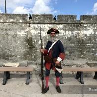Castillo de San Marcos in St. Augustine, Florida. Photo by Michael Kleen