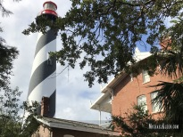 St. Augustine Lighthouse and Maritime Museum in St. Augustine, Florida. Photo by Michael Kleen