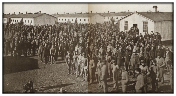 Confederate prisoners of war in Camp Douglas