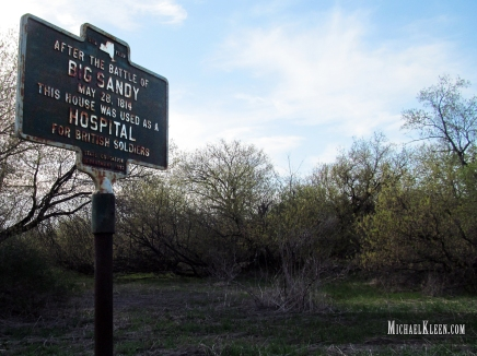 Big Sandy Battlefield outside Ellisburg, New York. Photo by Michael Kleen