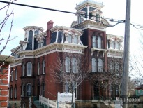 Jacob Henry Mansion in Joliet, Illinois. Photo by Michael Kleen