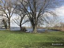 Site of the British landing in Ogdensburg, New York. Photo by Michael Kleen