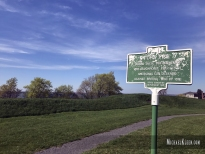 Site of Fort Pike in Sackets Harbor, New York. Photo by Michael Kleen