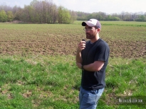 Your intrepid guide explores Dug Hill Lane outside Jonesboro, Illinois, circa 2006..