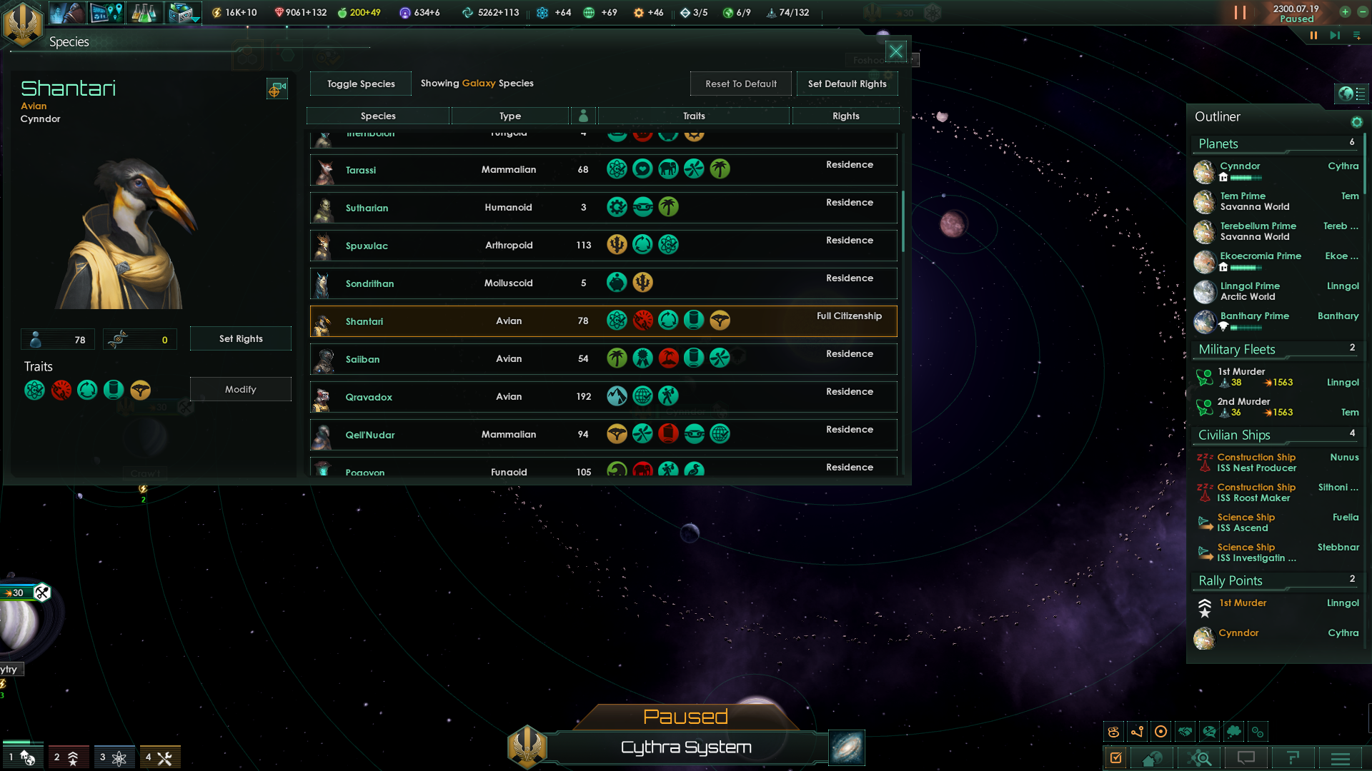 stellaris civics points how to spend