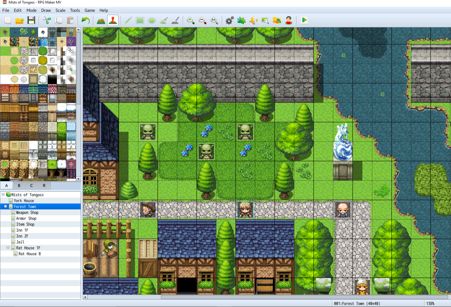 RPG Maker MV: Mists of Tongass VIII – M A  Kleen