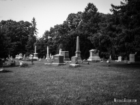 Aux Sable Cemetery in Grundy County, Illinois. Photo by Michael Kleen
