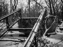 Axeman's Bridge in Crete, Illinois. Photo by Michael Kleen