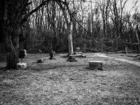 Bachelor's Grove Cemetery in Midlothian, Illinois. Photo by Michael Kleen