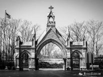 Calvary Cemetery in Evanston, Illinois. Photo by Michael Kleen