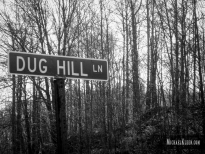 Dug Hill Lane in rural Union County, Illinois. Photo by Michael Kleen