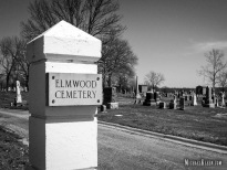 Elmwood Cemetery in Centralia, Illinois. Photo by Michael Kleen