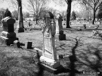 Elmwood Cemetery in Centralia, Illinois. Photo by Michael Kleen