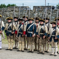 French and Indian War Reenactment at Fort Ticonderoga. Photo by Michael Kleen