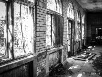 Morgan Cottage at Manteno State Hospital in Manteno, Illinois. Photo by Michael Kleen