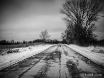 Munger Road in Wayne, Illinois. Photo by Michael Kleen