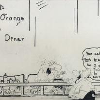 The Orange Top Diner in Tuxedo, New York. Photo by Michael Kleen