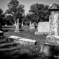 Peck Cemetery in Macon County, Illinois. Photo by Michael Kleen