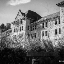 Peoria State Hospital in Bartonville, Illinois. Photo by Michael Kleen