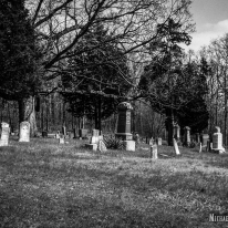Ridge Cemetery and Williamsburg Hill in Shelby County, Illinois. Photo by Michael Kleen