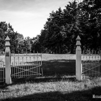 Bishop-Zion Cemetery in Bishop, Illinois. Photo by Michael Kleen