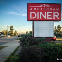 Amsterdam Diner in Amsterdam, New York. Photo by Michael Kleen