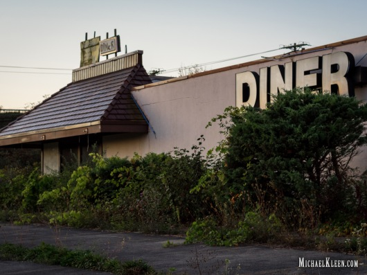 Former Amsterdam Diner off I-90 south of Amsterdam, New York. Photo by Michael Kleen