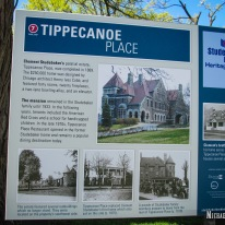 Tippecanoe Place Restaurant in South Bend, Indiana. Photo by Michael Kleen