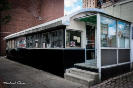 JJ's Miss Syracuse Diner on Water Street. Photo by Michael Kleen